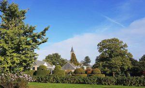 Schlossgarten mit Sicht auf Amerongen