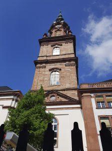 Quadratestadt Mannheim am Rhein - Konkordienkirche