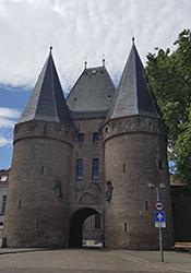 Kornmarktpoort - das älteste Stadtor von Kampen