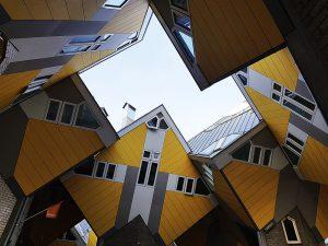 Innenhof in Rotterdam bei Drachenwolke Geschichten