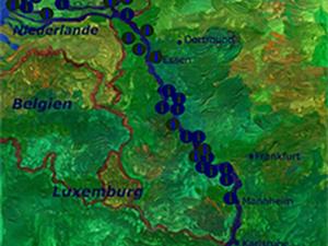 Zur interaktiven Rhein-Karte