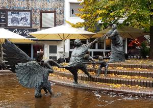 Lohengrinbrunnen in Kleve