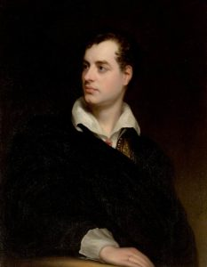 Lord Byron poem Drachenfels