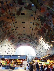 Markthalle von Innen in Rotterdam bei Drachenwolke Geschichten