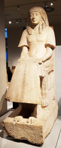 Statue Maya im Museum van Oudheden in Leiden