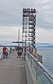 Moleturm / Aussichtsturm in Friedrichshafen am Bodensee