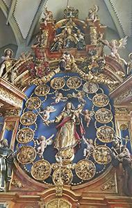 Altar des St. Nikolaus Münster in Überlingen