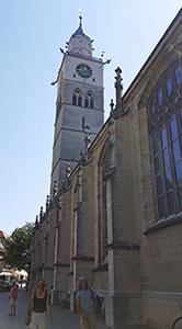 St Nikolaus Münster in in Überlingen