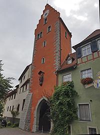 Obere Stadttor in Meersburg am Bodensee