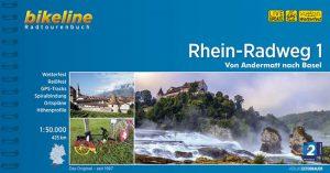 Radtourenbuch Rhein-Radweg: Von Andermatt nach Basel - Rhein Tour