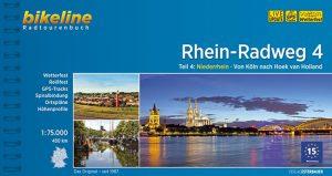 Radtourenbuch Rhein-Radweg: Von Köln nach Hoek van Holland - Rhein Tour