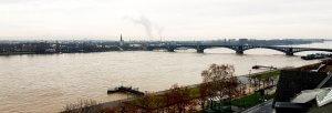 Theodor-Heuss-Brücke Mainz bei Drachenwolke Geschichten und Sagen & Legenden vom Rhein