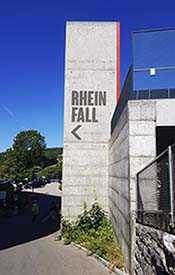 Eingang Rheinfall