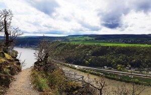 Rheinsteig bei Burg Katz und Maus bei Drachenwolke Geschichten und Infos rund um den Rhein