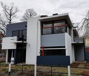 Rietfeld-Schröder-Haus Utrecht bei Drachenwolke Geschichten und Infos rund um den Rhein