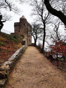 Aussichtspunkt Rossel beim Niederwalddenkmal am Rhein