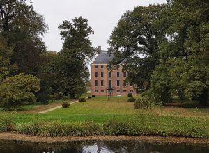 Rückansicht Schloss Amerongen bei Drachenwolke Geschichten und Infos rund um den Rhein
