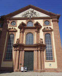 Quadratestadt Mannheim Rhein Kirche Barockschloss