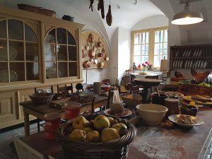 Küche Schloss Amerongen bei Drachenwolke Geschichten und Infos rund um den Rhein