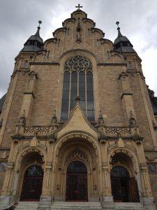 Portal der St. Joseph Kirche in Speyer