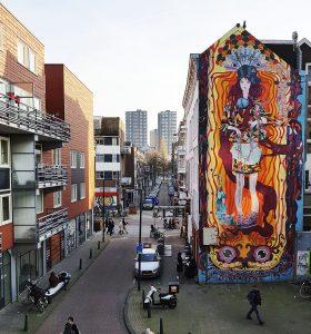 Grafitti Strassenkunst in Rotterdam bei Drachenwolke Geschichten