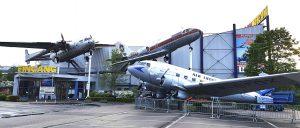Technik Museum mit Flugzeugen in Speyer