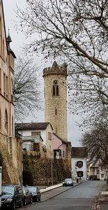 Uhrturm Oppenheim bei Drachenwolke Geschichten, Sagen und Legenden rund um den Rhein