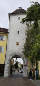 Untere Stadttor in Meersburg am Bodensee