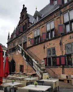Waaggebouw auf dem großem Markt in Nijmegen / Nimwegen