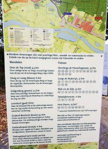 Wanderkarte Amerongen bei Drachenwolke Geschichten und Infos rund um den Rhein