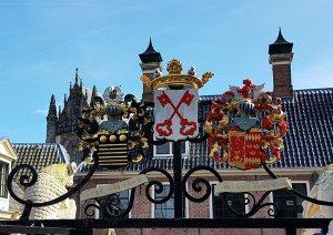 Wapppen mit Schlüssel von Leiden am Rhein