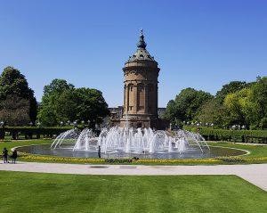 Reisen / Mannheim Wasserturm