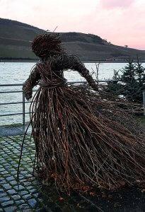 Kunst in Bingen am Rhein bei Drachenwolke Geschichten und Infos, Sagen und Legenden rund um den Rhein
