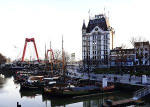 Weisse Haus in Rotterdam bei Drachenwolke Geschichten
