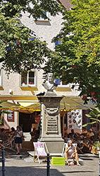 Joseph Franz Sales Wocheler Büste beim Münster in Überlingen