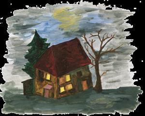 Leo's Haus bei der Kindergeschichte Gufu Munka