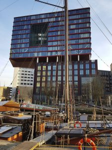 Büro Hochhaus Red Apple in Rotterdam